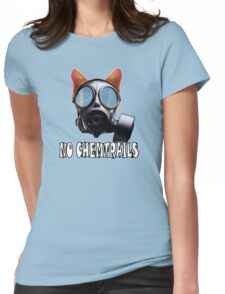 No Chemtrails Womens Fitted T-Shirt