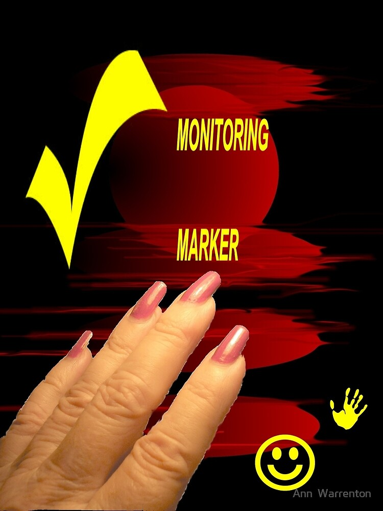 MONITORING MARKER for Group by Ann  Warrenton