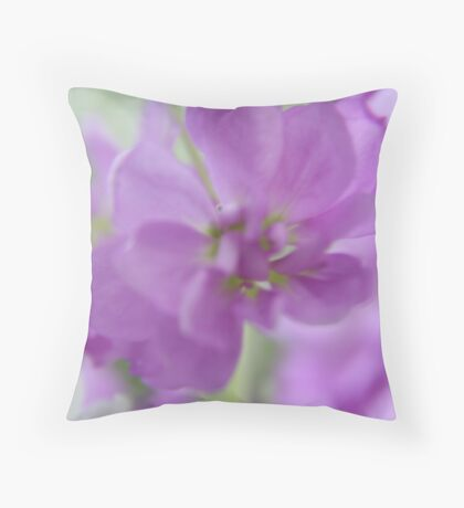 Soft lilac .... Throw Pillow