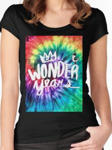 The Wonder Years-  Women's Fitted Scoop T-Shirt