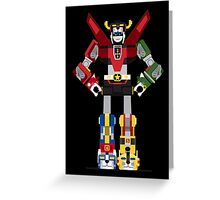 Funny Robot Greeting Card