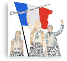 Les Miserables Canvas Print