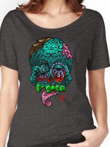 Zombie Sugar Skull Women's Relaxed Fit T-Shirt