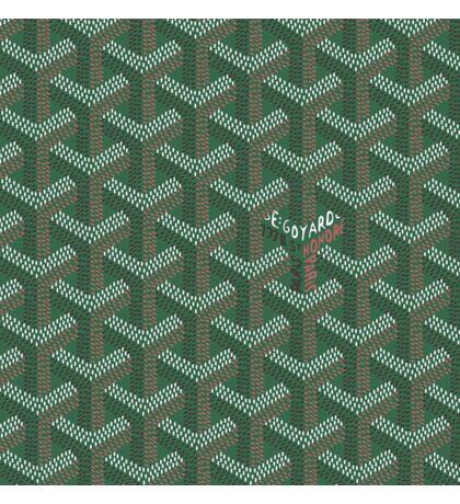 Goyard Green Sticker