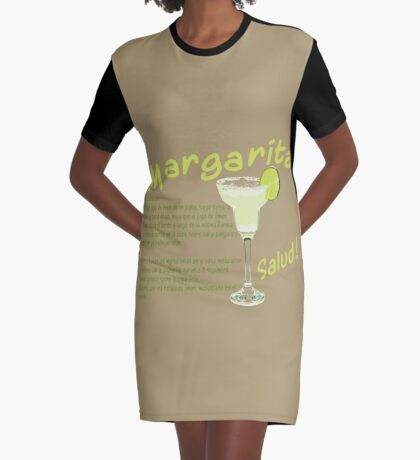 Margarita Graphic T-Shirt Dress