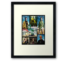 Breaking Bad GTA Style  Framed Print