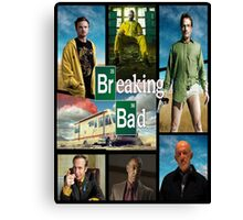 Breaking Bad GTA Style  Canvas Print