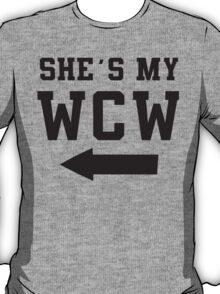 She's My WCW / He's My MCM Best Friends Shirts, Matching Shirts, Bff, Besties, Pairs,  T-Shirt