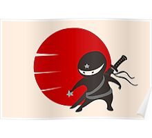 LITTLE NINJA STAR Poster