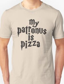 My Patronus Is Pizza, Funny Harry Potter Pizza Shirt, Quote Unisex T-Shirt