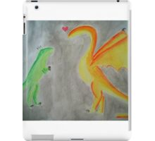 Rawrlove -- Watercolor iPad Case/Skin
