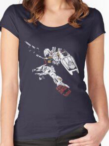 Gundam Mk2 Women's Fitted Scoop T-Shirt