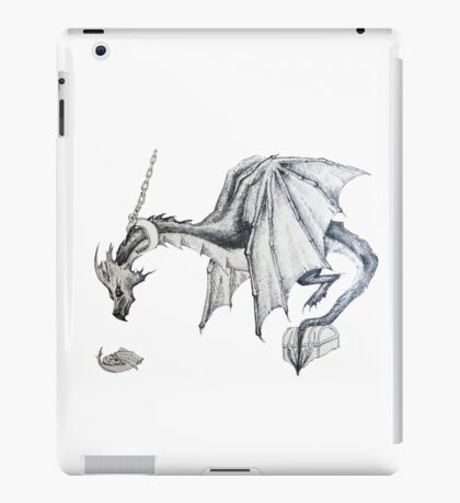 Dragon Drawing  iPad Case/Skin