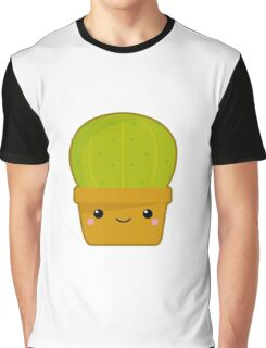 Kawaii cactus Graphic T-Shirt