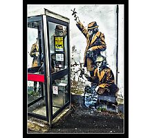 Government listening post by Banksy! Photographic Print