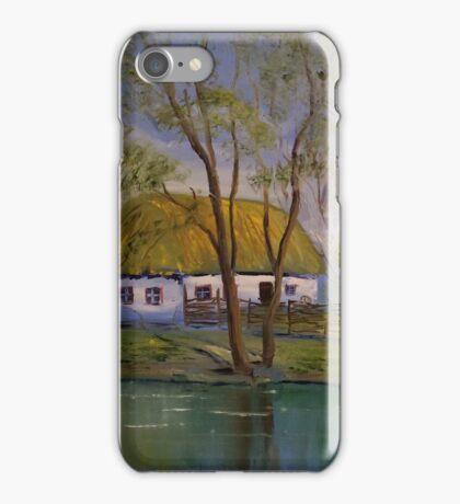 Ukrainian village iPhone Case/Skin