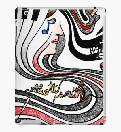 elliott smith iPad Case/Skin