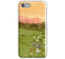 Sunset in the Valley iPhone Case/Skin