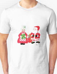 Mr. and Mrs. Santa Claus T-Shirt