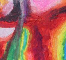 """Bridge to Nowhere"" original artwork by Laura Tozer Sticker"