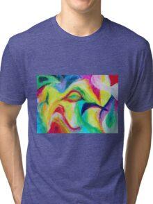 """Fauna"" original artwork by Laura Tozer Tri-blend T-Shirt"