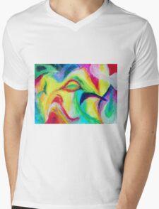 """""""Fauna"""" original artwork by Laura Tozer Mens V-Neck T-Shirt"""