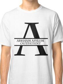 Arkham Asylum Outpatient Classic T-Shirt