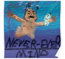 Nirvana Nevermind Cover Poster