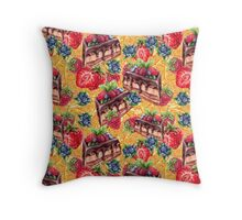 dream sweet tooth :) Throw Pillow