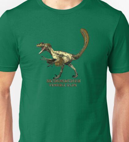 "Deinonychus ""terrible claw"" T_shirt Unisex T-Shirt"