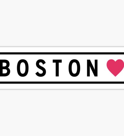 Boston MA Lite Sticker