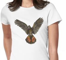 Forest Red-tailed Black Cockatoo (Karrak) Womens Fitted T-Shirt