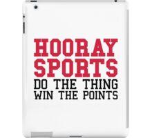 Hooray Sports iPad Case/Skin