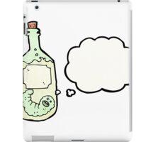 tequila bottle cartoon iPad Case/Skin