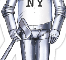 Tin Man - New York Sticker