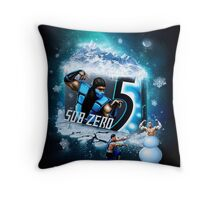 KOMBAT GUM Throw Pillow