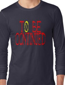<ONE PIECE> To Be Continued Long Sleeve T-Shirt