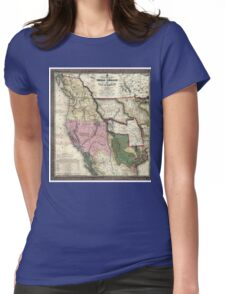 West - United States - 1846 Womens Fitted T-Shirt