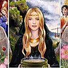 Eriu - Irish Goddess by Nicole Cadet
