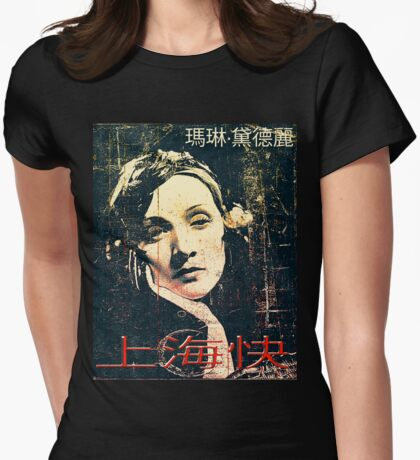 Express Train to Shanghai  Womens Fitted T-Shirt