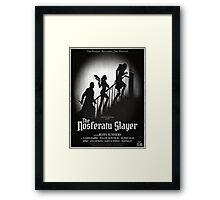 The Nosferatu Slayer Framed Print