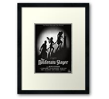 The Nosferatu Slayer Framed Print