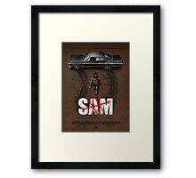 Sam Framed Print