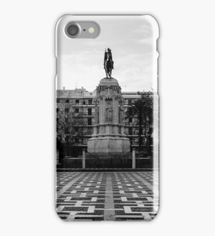Seville architecture of Plaza Nueva iPhone Case/Skin
