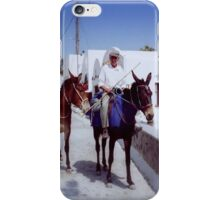 Days gone by in Greece iPhone Case/Skin