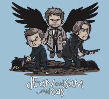 Dean and Sam and Cas Kids Clothes