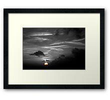 Selective Sunset over Seaford Bay Framed Print