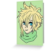 chibi cloud Greeting Card