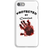 Protected By Castiel Hand Print iPhone Case/Skin