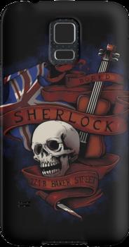 Sherlock Holmes by tyna